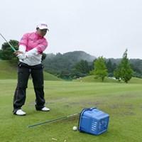 賞金ランキングで日本勢最上位につける鈴木愛 2017年 ゴルフ5レディス 事前 鈴木愛