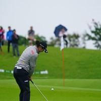 ウェッジはフォーティーンなんだね。 2017年 ゴルフ5レディス プロゴルフトーナメント 初日 松森彩夏