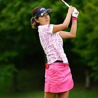 予選通過祝い。 2017年 ゴルフ5レディス プロゴルフトーナメント 2日目 藤田光里