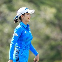 ブルーも似合うね 2017年 日本女子プロ選手権大会コニカミノルタ杯 3日目 アン・シネ