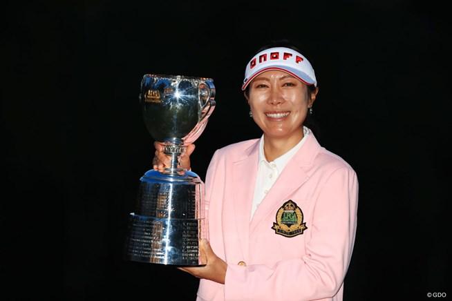 2017年 日本女子プロ選手権大会コニカミノルタ杯 最終日 李知姫
