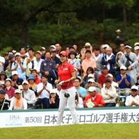10番スタートとは思えないギャラリーの多さ 2017年 日本女子プロ選手権大会コニカミノルタ杯 最終日 アン・シネ