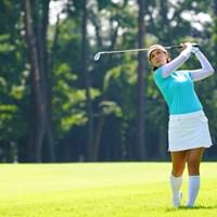 足首までスッポリとラフに埋まってない? 2017年 日本女子オープンゴルフ選手権競技 最終日 キム・ ハヌル