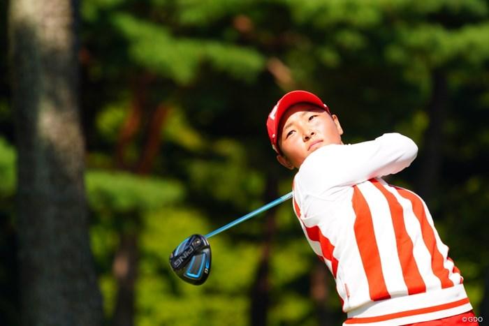 アマでもしっかり決勝に進むだけでも立派だね。 2017年 日本女子オープンゴルフ選手権競技 最終日 平岡瑠依