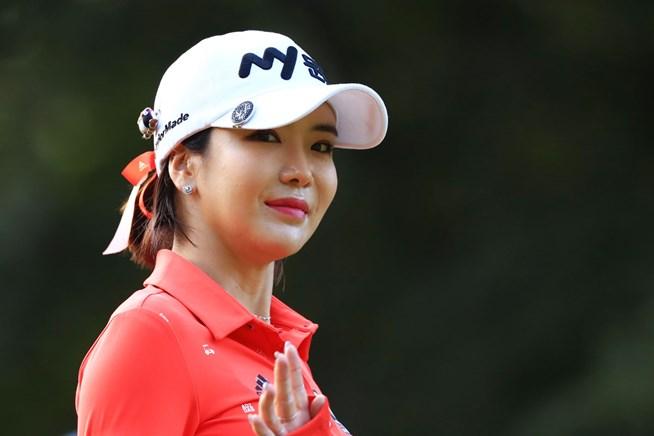 2017年 LPGA KEB・ハナバンク選手権 事前 アン・シネ