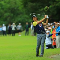 いつもラフからの2ndショットでは勝負にならなかったか・・・。 2017年 日本オープンゴルフ選手権競技 2日目 石川遼