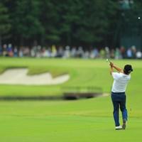 7番Par5、アイアンで楽々2オン。 2017年 日本オープンゴルフ選手権競技 3日目 池田勇太