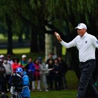 「クー!」とは日本のギャラリーはあまり吠えない。 2017年 ブリヂストンオープンゴルフトーナメント 2日目 マット・クーチャー