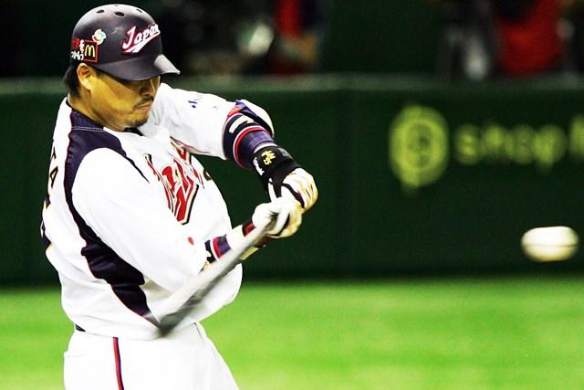 村田修一選手などプロ野球選手が使用していることでも有名 (Photo by Koji Watanabe/Getty Images)