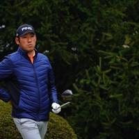 終始腰をかばってスイングしていた。 2017年 ゴルフ日本シリーズJTカップ 初日 チャン・キム