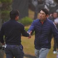 よく棄権せずに頑張りぬいたね。 2017年 ゴルフ日本シリーズJTカップ 初日 チャン・キム