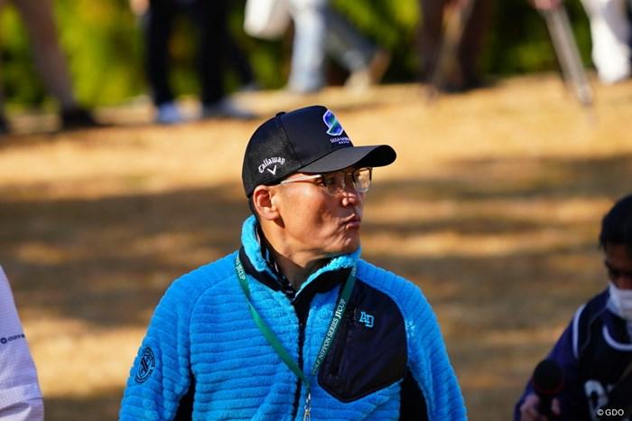 メガネ20個以上持ってるらしい。 2017年 ゴルフ日本シリーズJTカップ 最終日 丸山茂樹