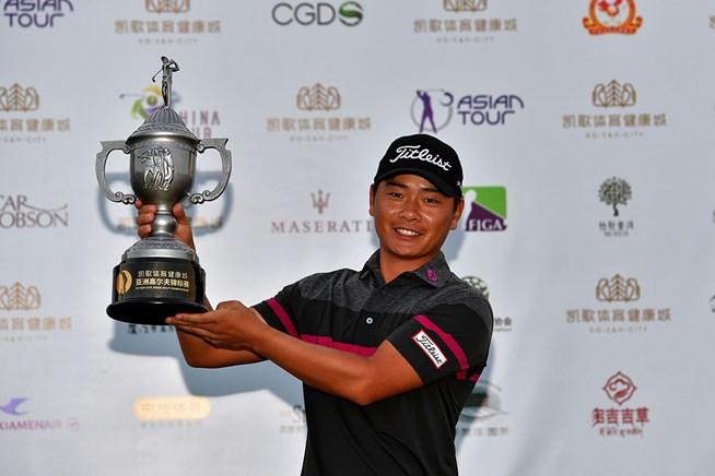 2017年 kg s&h city アジアンゴルフチャンピオンシップ 最終日 シャオ・ボーウェン