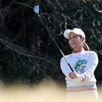 契約するブリヂストンゴルフのファンイベントに参加した宮里藍 2017年 宮里藍