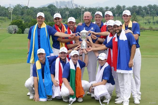 2018年 ユーラシアカップ 最終日 欧州チーム
