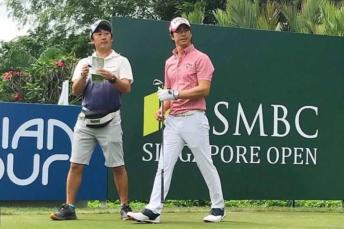 石川遼は開幕3日前に練習ラウンドを開始した 2018年 SMBCシンガポールオープン 事前 石川遼