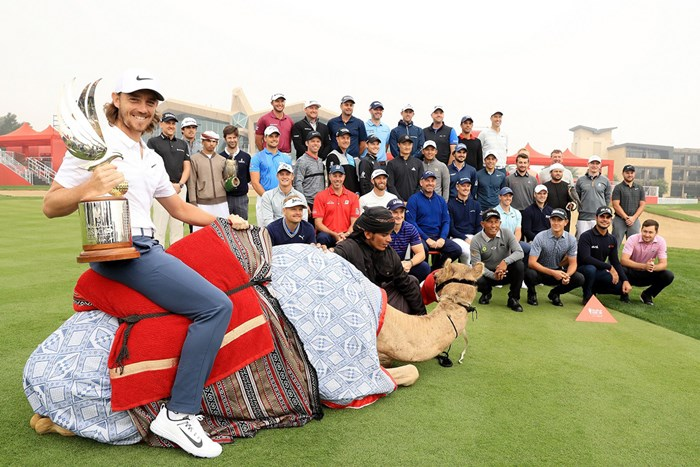 前年覇者はトミー・フリートウッド(Getty Images) 2018年 アブダビHSBCゴルフ選手権 事前 トミー・フリートウッド