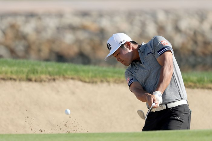 首位から21位タイに後退した谷原秀人 (David Cannon/Getty Images) 2018年 アブダビHSBCゴルフ選手権 2日目 谷原秀人