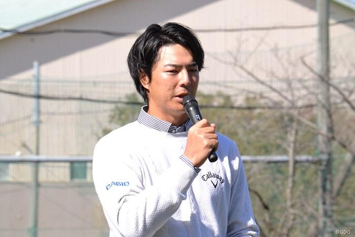 2020年東京五輪への思いを口にした石川遼 2018年 東建ホームメイトカップ 事前 石川遼