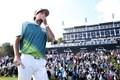 ワトソンは2年ぶりの勝利に目を赤くした(Christian Petersen/Getty Images