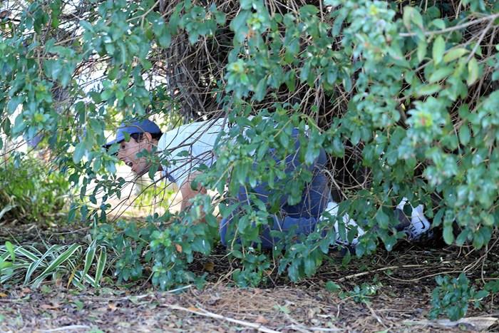 マキロイは茂みの中から正座でブッシュアウト(David CannonGetty Images) 2018年 ザ・ホンダクラシック 3日目 ロリー・マキロイ