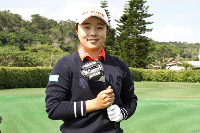 永峰咲希は『M3 440』がフィット。開幕戦から投入する 2018年 ダイキンオーキッドレディスゴルフトーナメント 事前 永峰咲希