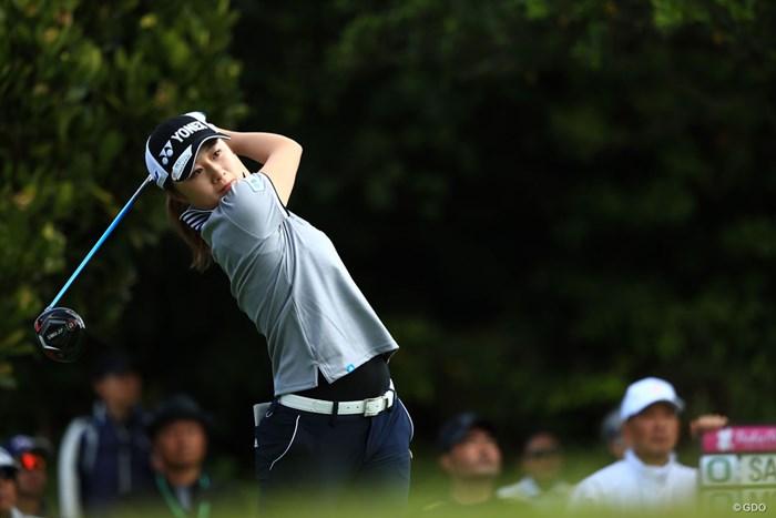 森田遥がツアー2勝目へ首位発進を決めた 2018年 ダイキンオーキッドレディスゴルフトーナメント 初日 森田遥