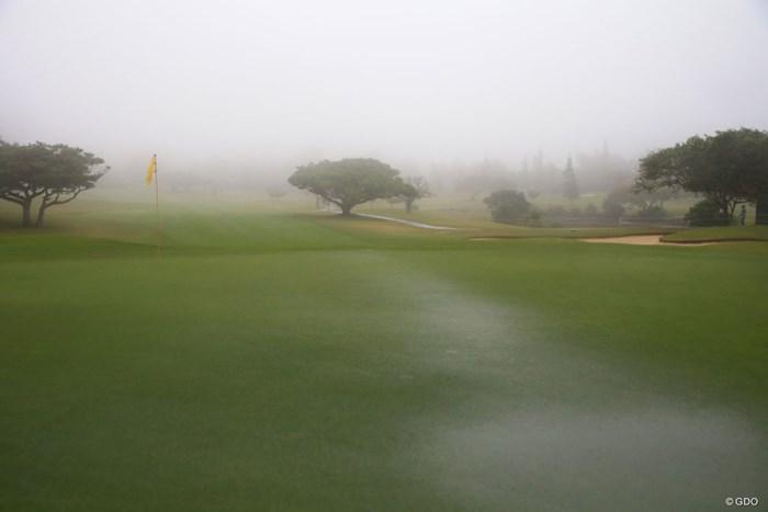 荒天のため、大会3日目は中止となった 2018年 ダイキンオーキッドレディスゴルフトーナメント 3日目 コース