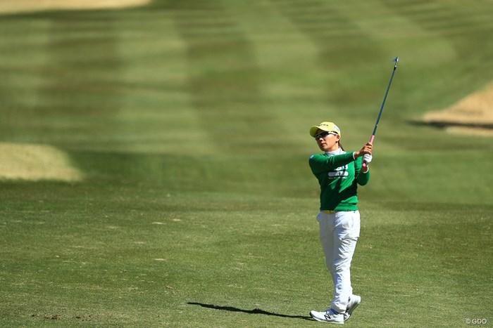 ギリギリ予選通過 2018年 ヨコハマタイヤゴルフトーナメント PRGRレディスカップ 2日目 有村智恵