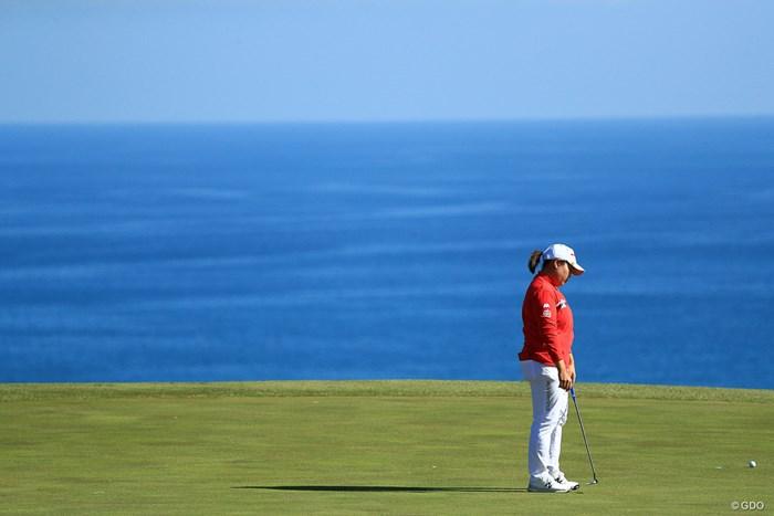 バーディー見られず、、、 2018年 ヨコハマタイヤゴルフトーナメント PRGRレディスカップ 2日目 アン・ソンジュ