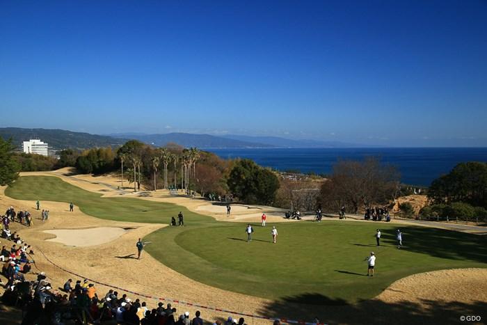 もっといいシーズンに来て見たいコースですね 2018年 ヨコハマタイヤゴルフトーナメント PRGRレディスカップ 2日目 18番