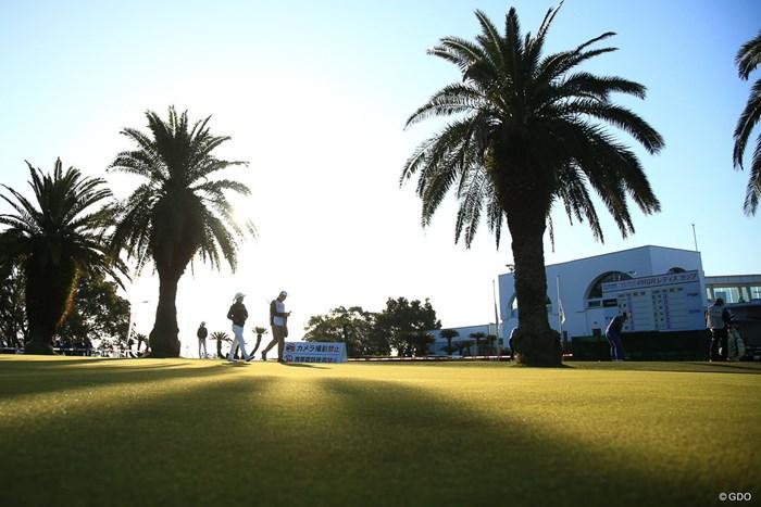 今日も晴天 2018年 ヨコハマタイヤゴルフトーナメント PRGRレディスカップ 最終日 菊地絵理香
