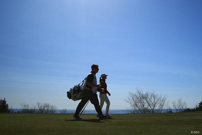 次はいつタッグを組むのかな? 2018年 ヨコハマタイヤゴルフトーナメント PRGRレディスカップ 最終日 横峯さくら