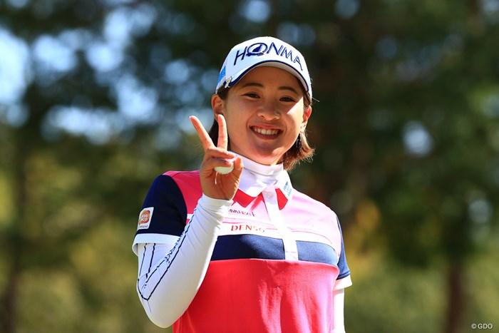 バーディーは嬉しいよね 2018年 ヨコハマタイヤゴルフトーナメント PRGRレディスカップ 最終日 永井花奈