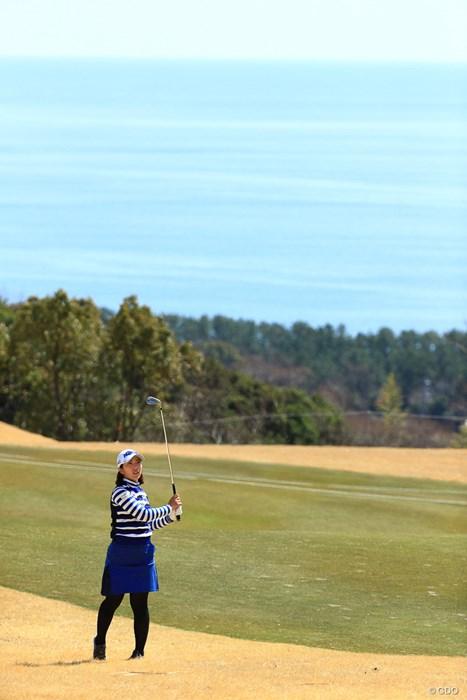 海とゴルファー 2018年 ヨコハマタイヤゴルフトーナメント PRGRレディスカップ 最終日 笠-りつ子