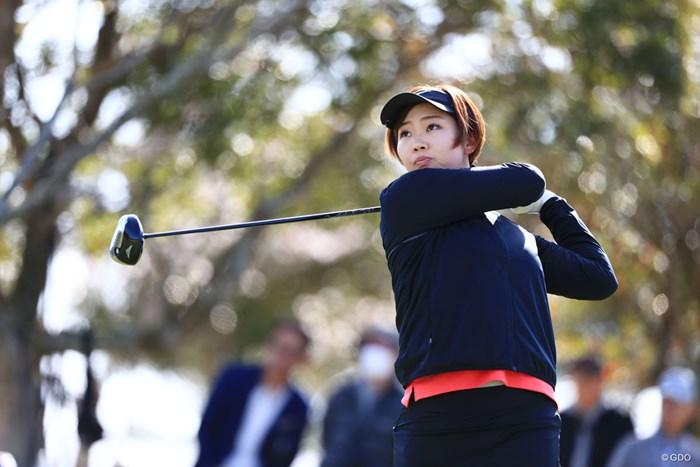 首位タイで発進した葭葉ルミ 2018年 アクサレディスゴルフトーナメント in MIYAZAKI 初日 葭葉ルミ