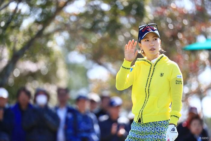なんだって? 2018年 アクサレディスゴルフトーナメント in MIYAZAKI 初日 上田桃子