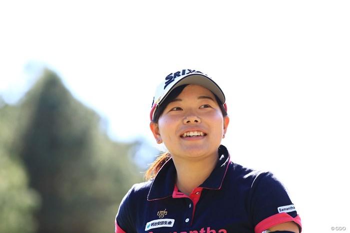 いいね~笑顔最高 2018年 アクサレディスゴルフトーナメント in MIYAZAKI 初日 勝みなみ