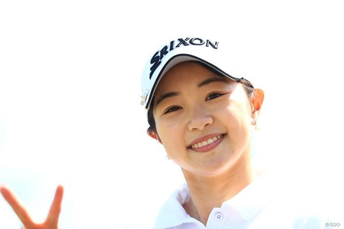 あ~ピースの手が切れちゃったよ 2018年 アクサレディスゴルフトーナメント in MIYAZAKI 初日 三浦桃香