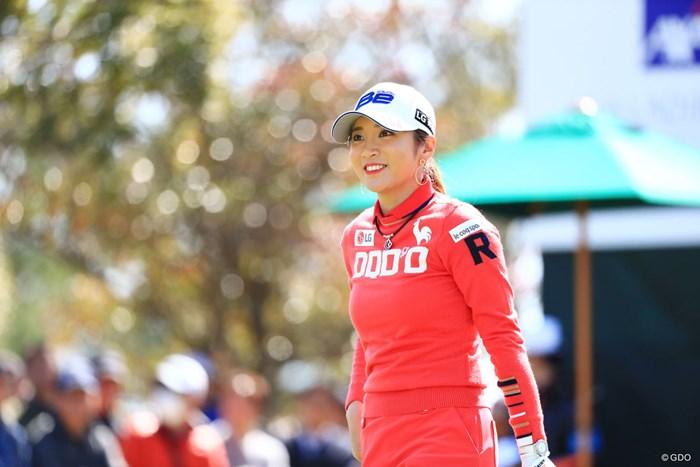 やっぱり笑顔がかわいいじゃん 2018年 アクサレディスゴルフトーナメント in MIYAZAKI 初日 イ・ボミ