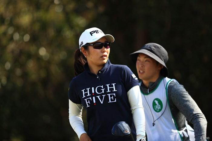 8アンダー、もともと実力者だしね 2018年 アクサレディスゴルフトーナメント in MIYAZAKI 2日目 比嘉真美子