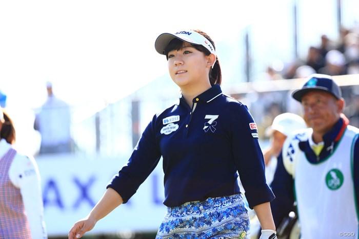 準地元だもんね 2018年 アクサレディスゴルフトーナメント in MIYAZAKI 2日目 香妻琴乃