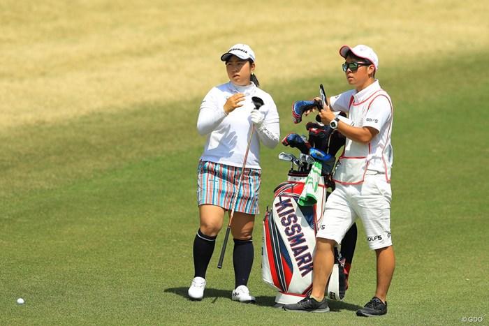 安定感抜群のゴルフで7位タイの好スタート 2018年 ヤマハレディースオープン葛城 初日 武夫咲希
