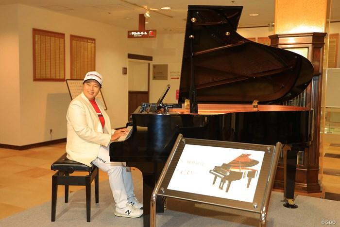 アンちゃん、ピアノの腕前は? 2018年 ヤマハレディースオープン葛城 最終日 アン・ソンジュ