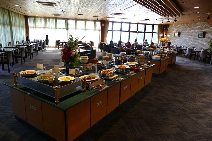 豊富なメニューが並べられる。日替わりで選手たちからは好評だった 2018年 ヤマハレディースオープン葛城 2日目 料理