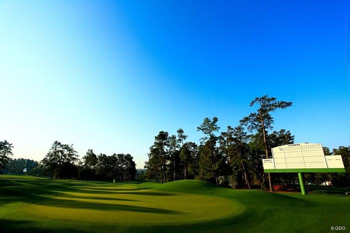 美しきオーガスタ。世界中のゴルファーにとって憧れの場所 2018年 マスターズ 事前 オーガスタ