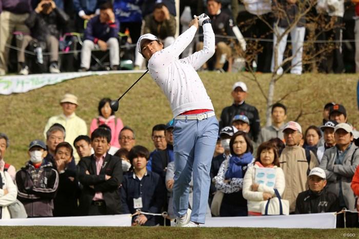 2日間競技で石川遼は単独首位発進を決めた 2018年 千葉オープン 初日 石川遼