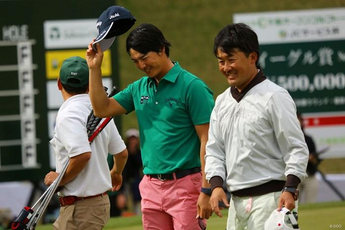 石川遼は1打差での勝利を控えめに喜んだ 2018年 千葉オープン 最終日 石川遼