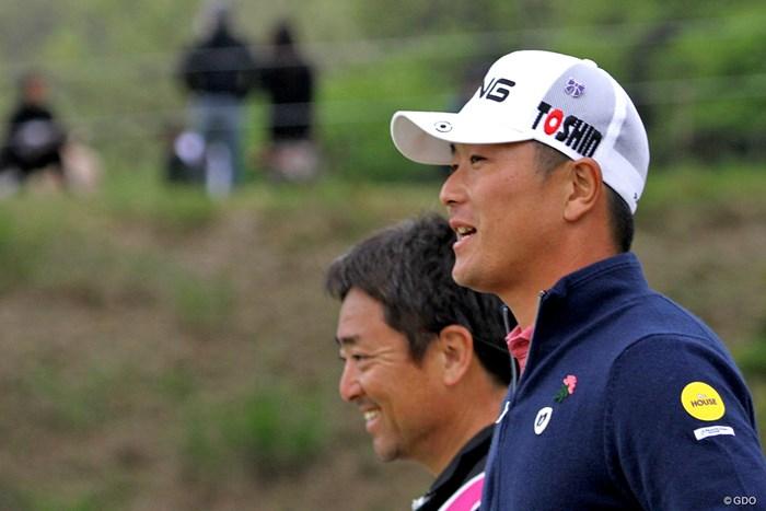 熊本県出身の永野竜太郎はキャップに付けてティオフ 2018年 東建ホームメイトカップ 3日目 永野竜太郎