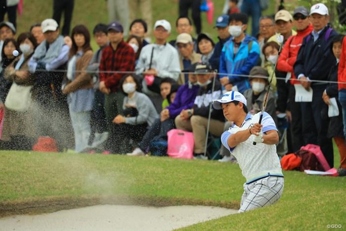 今日は粘りまくりのゴルフ。12位タイで最終日へ。 2018年 東建ホームメイトカップ 3日目 田村光正